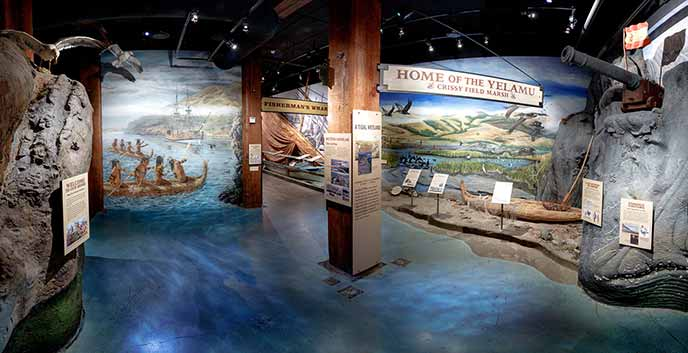 Exhibit In Visitor Center Beckons You To Enter San