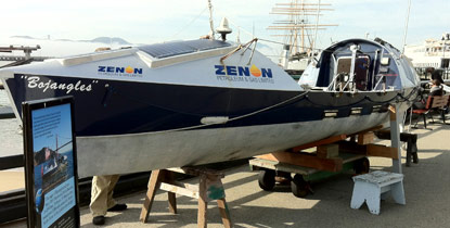 Ocean Tech Boats a Hi-tech Rowing Boat Sitting