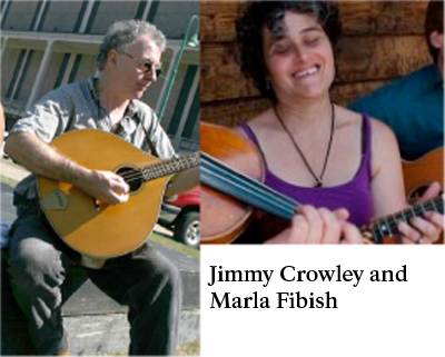 Jimmy Crowley and Marla Fibish