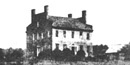 Saint-Gaudens' home as it appeared in 1885 when he first saw it.