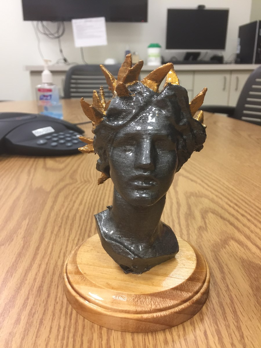 3D Print of Woman's Head