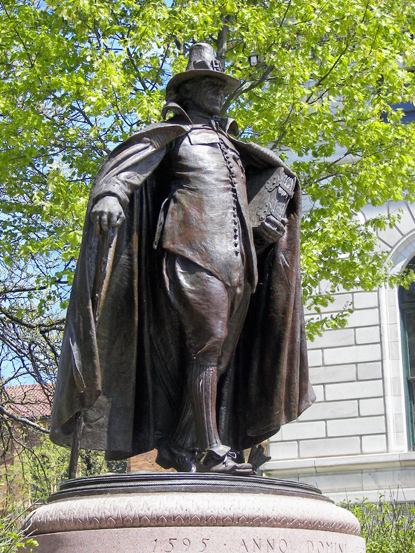 massachusetts and the puritans Thus the massachusetts bay company was founded, and the great puritan  migration began the governor of the massachusetts bay colony, john winthrop, .