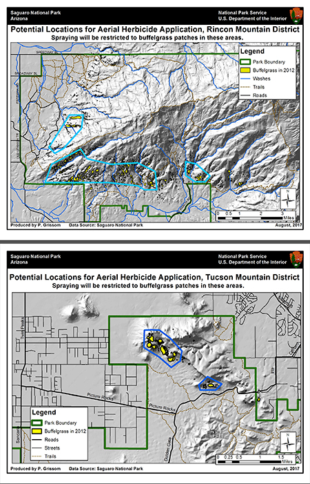 Restoration Plan Saguaro National Park US National Park Service