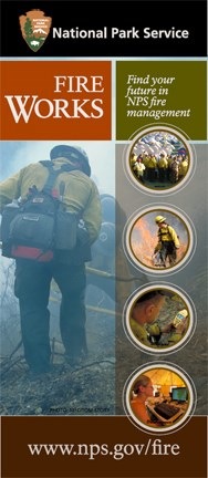 Collage of firefighters engaged in different types of work