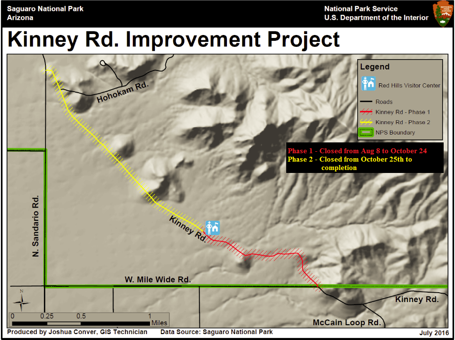 Updated Kinney Rd