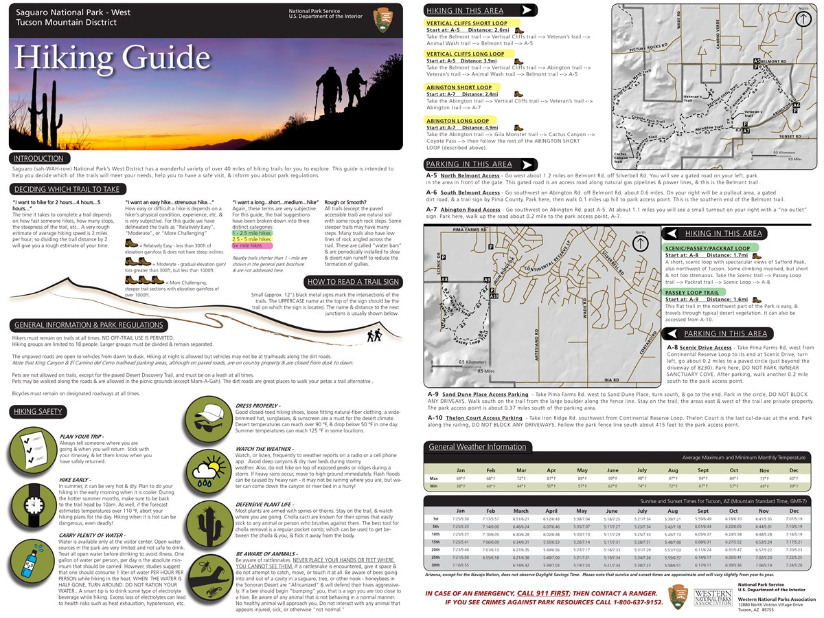 Hiking Guide, TMD