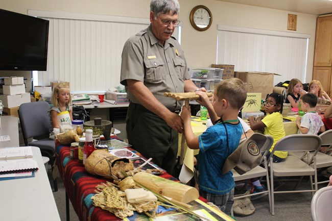 Jr. Ranger Camp 2016 Demonstration