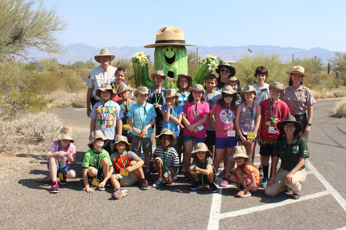 Jr. Ranger Camp 2016 Group Photo