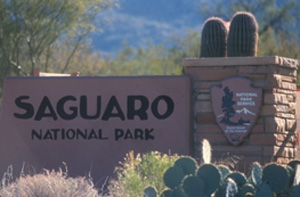 Saguaro's status changed from National Monument to National Park in 1994