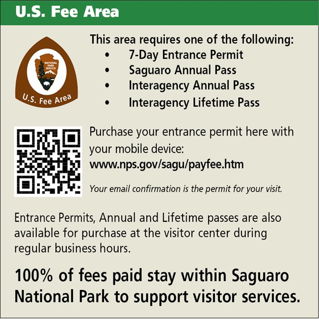 Pay your fees sign