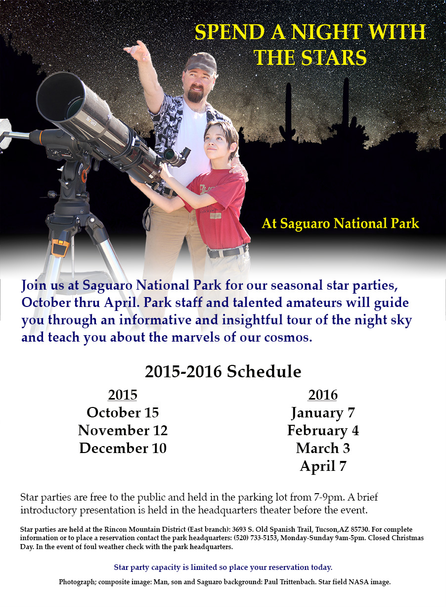 Event Details Saguaro National Park US National Park Service