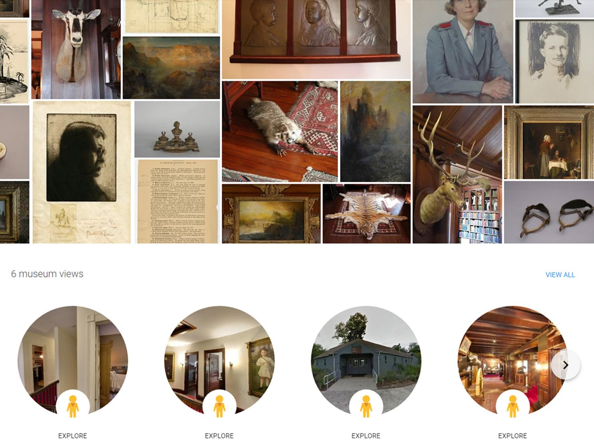 Be an armchair explorer! Visit Sagamore Hill NHS virtually through Google Arts & Culture
