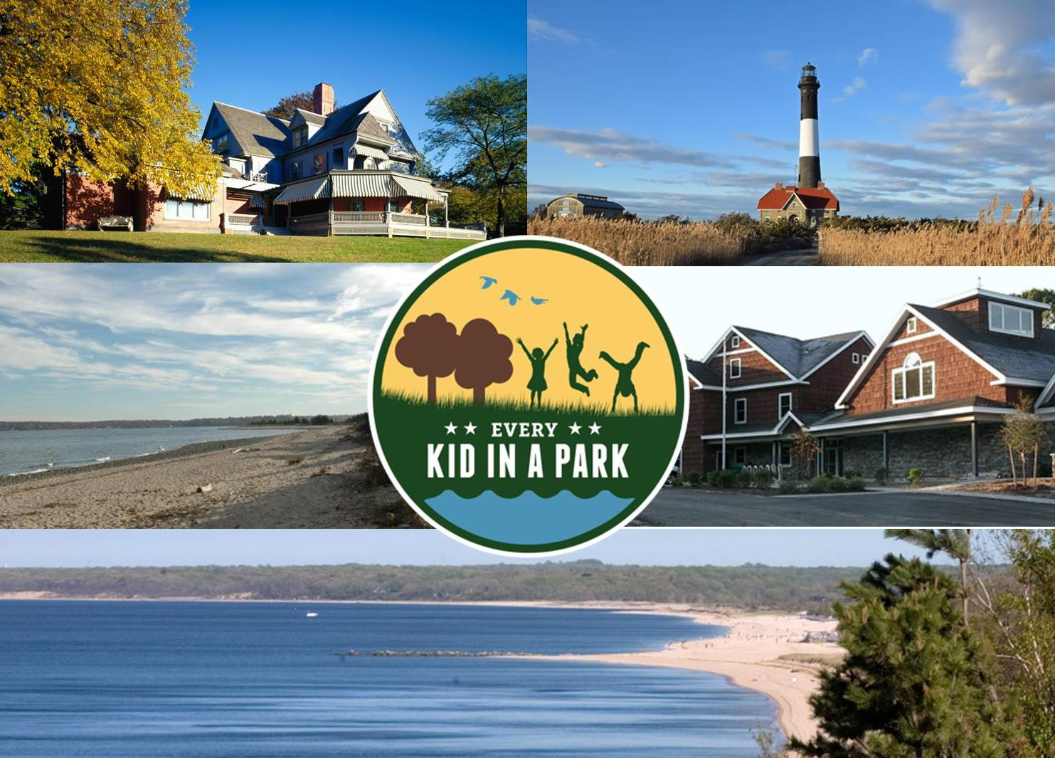 Long Island's Public Lands including Sagamore Hill, Fire Island, and Jones Beach.
