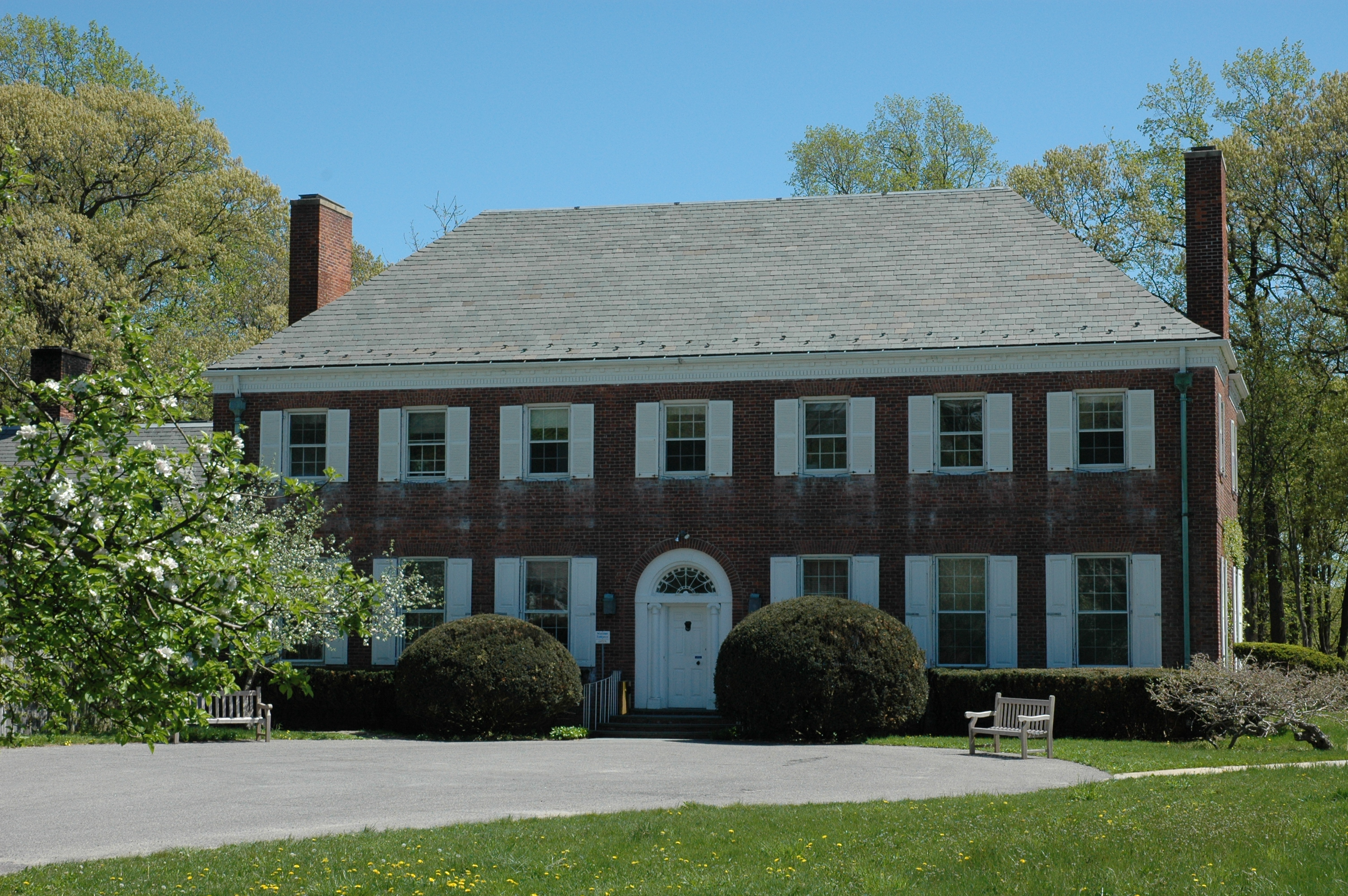 Sagamore Hill National Historic Sites Old Orchard Museum Building To