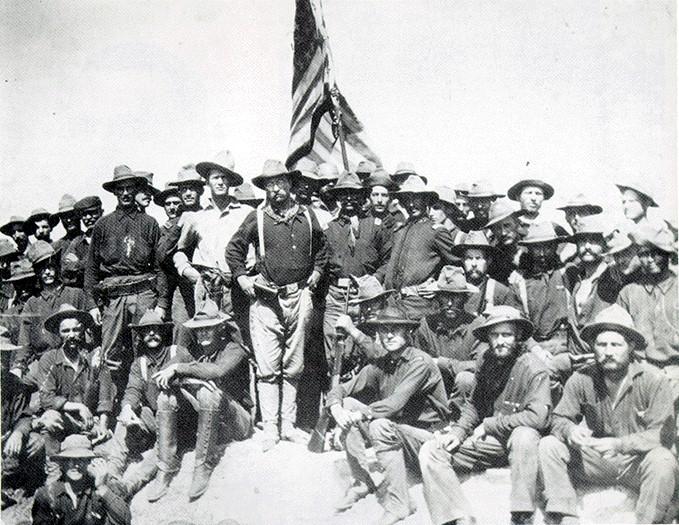 Rough Riders on San Juan