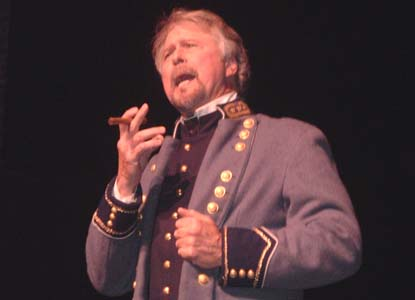 Mike Vouri as General George Pickett