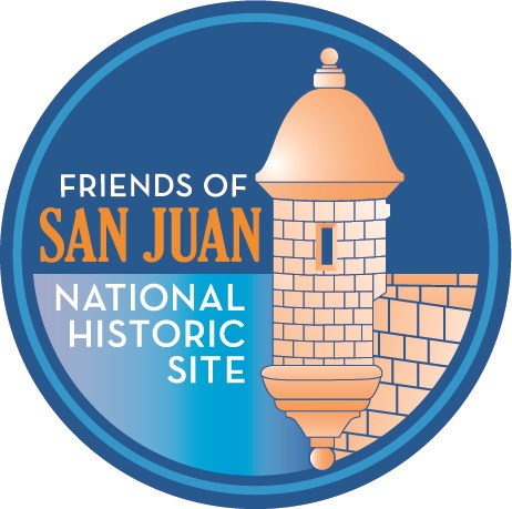 The logo image of Friends of San Juan National Historic Site.