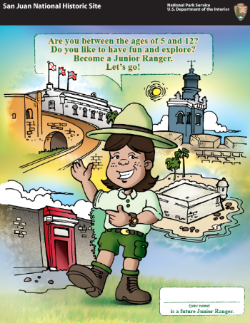 Cover art of the English Jr Ranger Book