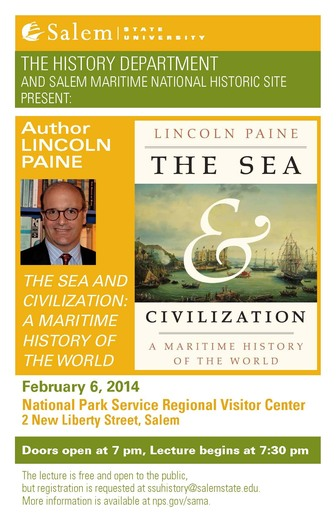 History Lecture Series at Salem Maritime National Historic Site