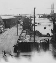 Historic Photograph of Derby Wharf