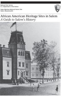 cover for booklet African American Heritage Sites in Salem