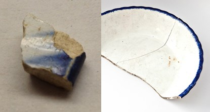 blue-edged pearlware