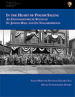 Cover to report on Polish community in Salem
