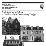 detail of cover for NPS publication Architecture in Salem