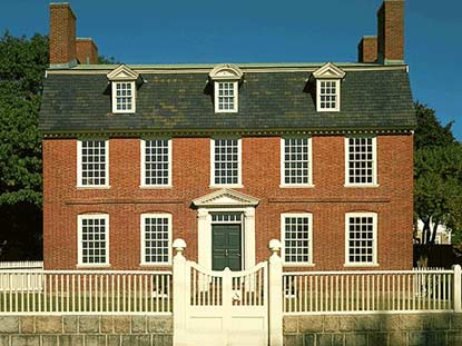 The 1762 Derby House at Salem Maritime