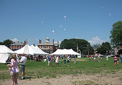 Make your own kites and fly them at the Maritime Festival
