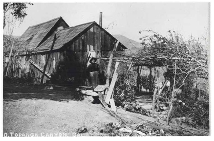In 1886 Manuela and her husband Francisco Trujillo became the second family to homestead in Topanga Canyon.