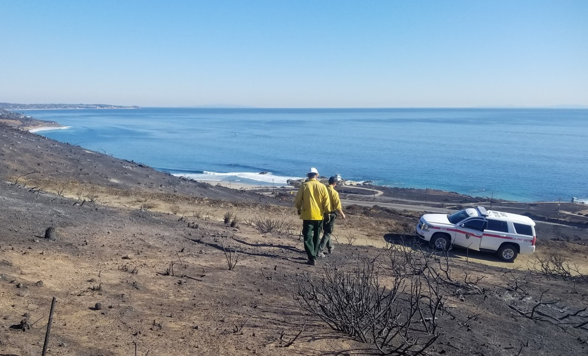 Cleanup from Woolsey Fire