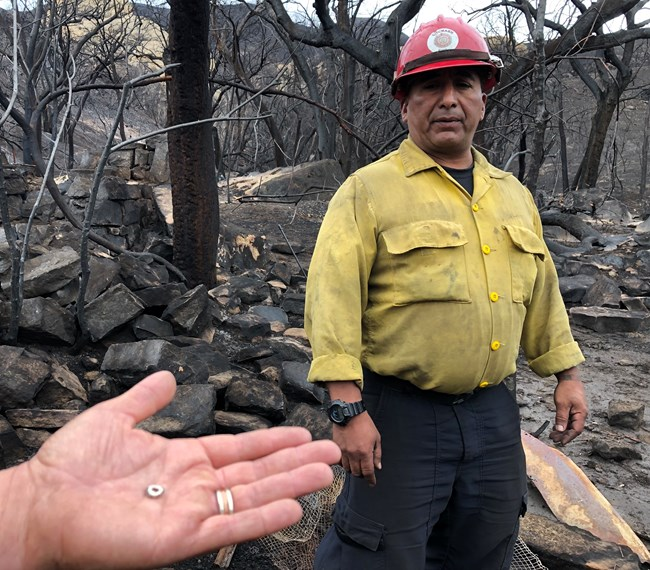 Chumash firefighter