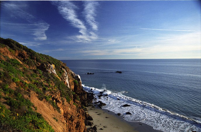 View from the top of Point-Dume.