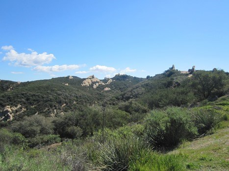 Backbone Trail scenery.
