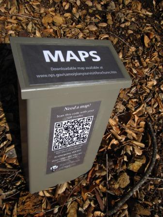 Map Box with QR Code