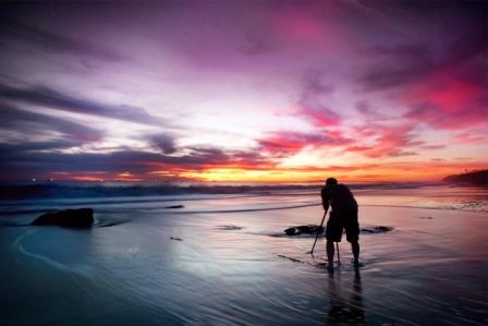 Photographer at Sunset by John Mueller - 2010 First Place winner (tie - People in Parklands)
