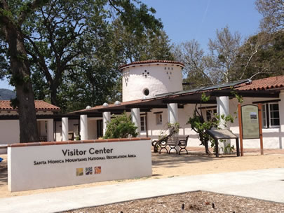 Visitor Center at King Gillette Ranch in Calabasas, CA