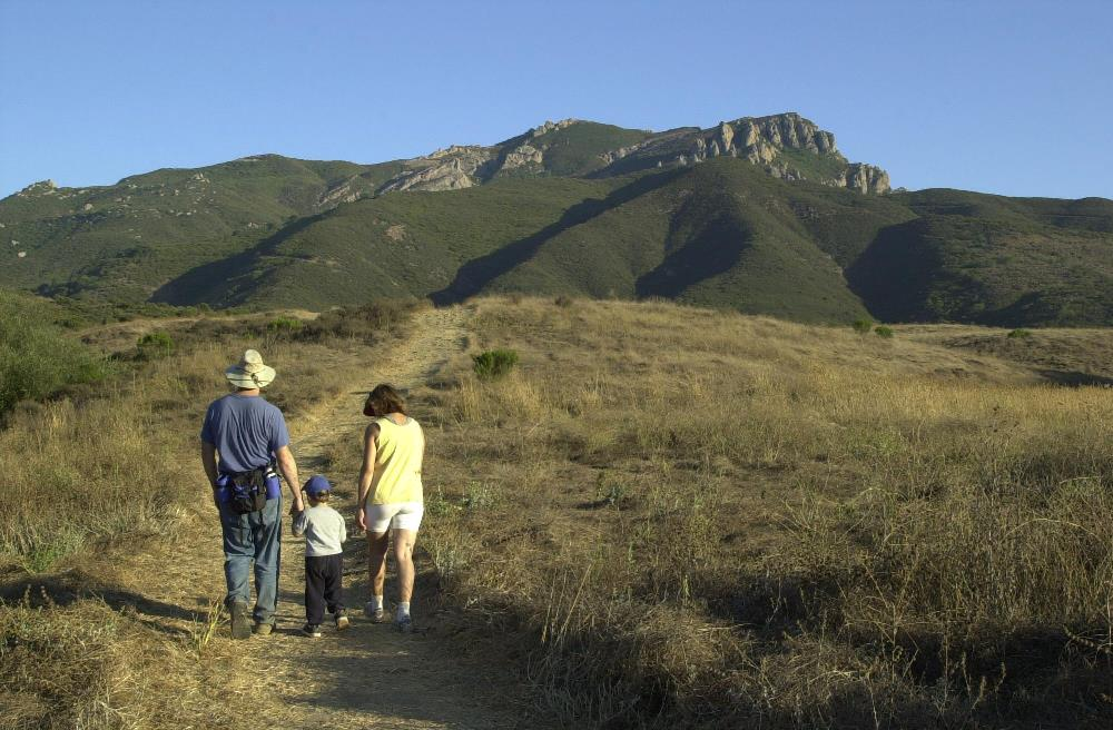 Hiking at Rancho Sierra Vista