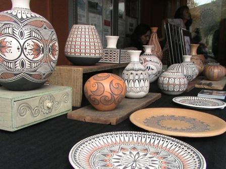 Coiling Pottery from previous Winter Solstice Art Show and Sale