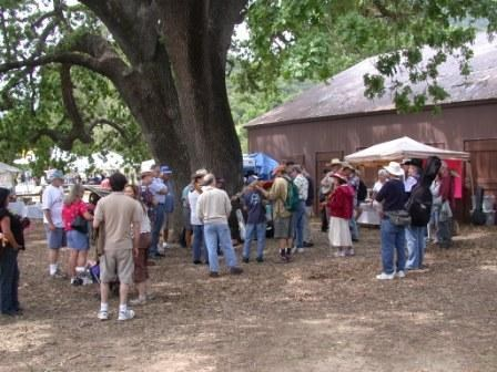 Many different events take place at Paramount Ranch during the year such as the Topanga Banjo and Fiddle Contest.
