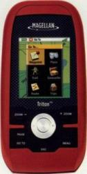 This is just one example of the type of GPS unit used for exploring the park. It's a Magellan Triton 200.