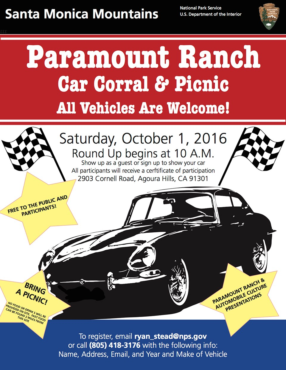 Car Corral & Picnic Flyer