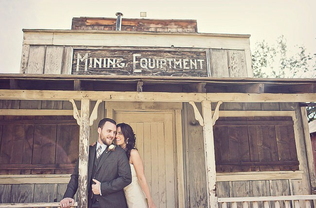 At Paramount Ranch, a couple can enjoy a historic venue with all of the glamour of modern day.