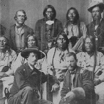 Cheyenne and Arapaho Leaders at the Camp Weld Conference in September of 1864