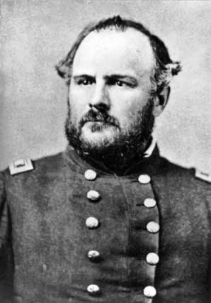 John Chivington in his uniform as a Colonel in the U.S. Volunteer Army.