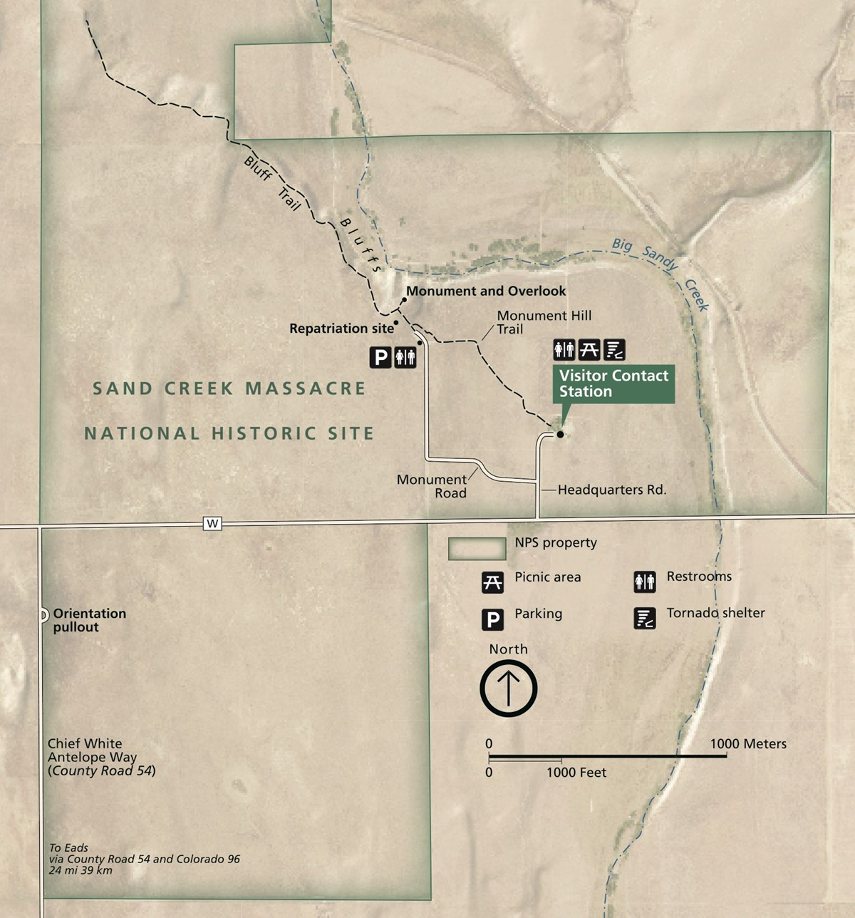 Things To Do - Sand Creek Macre National Historic Site ... on