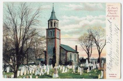 1907 postcard of Saint Paul's Church.
