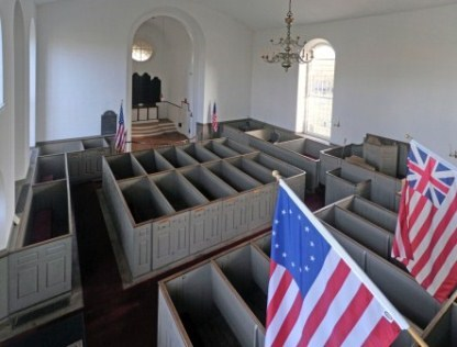 The interior of St. Paul's Church.