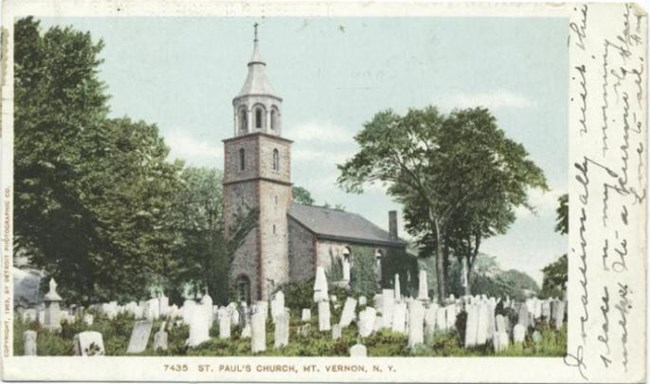 Postcard of Saint Paul's Church